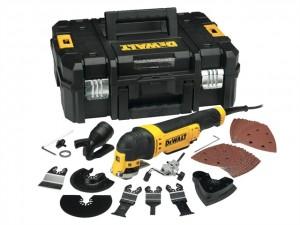DeWalt 110V DWE315KT Multi Tool Q/Change 300W Power Tool  DEWDWE315KTLX