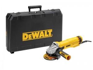 DeWalt 240V DWE4206K 115mm Grinder SAG & Kitbox Power Tool  DEWDWE4206KGB