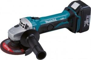 MAKITA 18V DGA452RMJ 115mm Angle Grinder 2x4Ah Power Tool  MAKDGA452RMJ