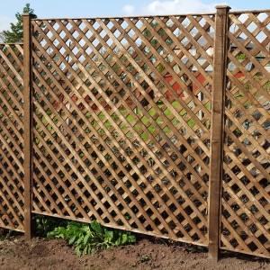 DENBIGH TIMBER - Diamond Trellis