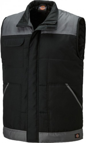 DICKIES BW274 EVERYDAY BODYWARMER BLACK GREY  BW24/7BG