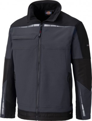 DICKIES DP1001 PRO JACKET GREY BLACK  DP1001GYB