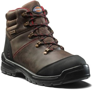 DICKIES FC9535 CAMERON SAFETY BOOT BROWN  FC9535BR