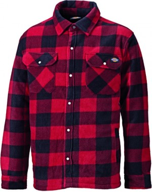 DICKIES SH5000 PORTLAND SHIRT RED  SH5000RD