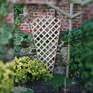 DENBIGH TIMBER - Domed Trellis