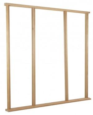 LPD - External Door - Door Frame Universal Oak External 2400 x 2234 mm  UNIOVEST