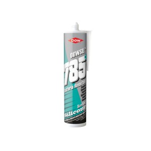 Dow 785+ Bacteria Resistant Sanitary Silicone 310ml