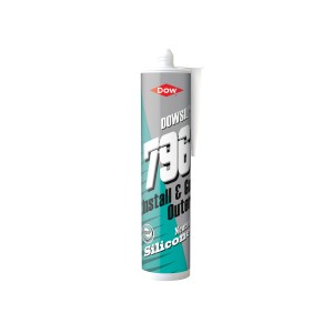 Dow 796 PVCu Aluminium & Wood Silicone Sealant 310ml