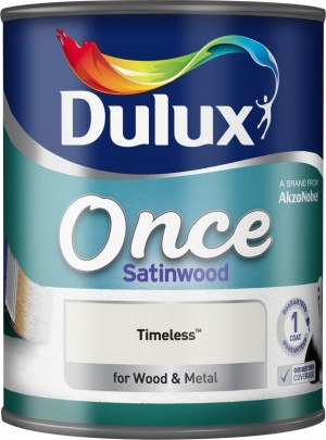 Dulux - Once Satinwood