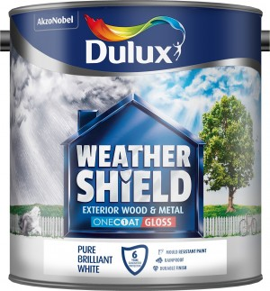 Dulux - Weathershield One Coat Exterior Gloss