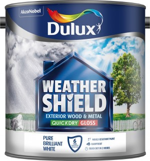 Dulux - Weathershield Quick Dry Exterior Gloss