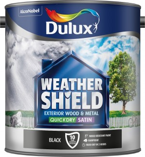 Dulux - Weathershield Quick Dry Exterior Satin