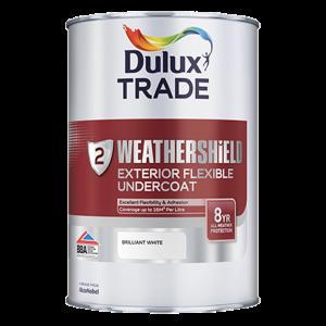 Dulux Trade Weathershield Exterior Flexible Undercoat
