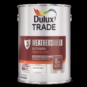Dulux Trade Weathershield Exterior High Gloss