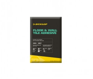 DUNLOP FLOOR & WALL TILE ADHESIVE WHITE 20KG