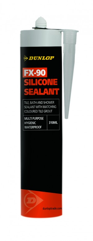 DUNLOP FX-90 SILICONE SEALANT CONKER BROWN 310ML [DUN25941]