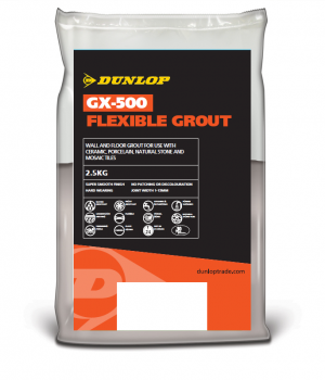 DUNLOP GX-500 FLEXIBLE GROUT LIQUORICE BLACK 2.5KG [DUN25950]
