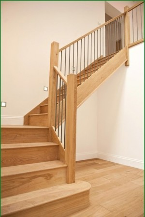 Pear Stairs - Eco House with Metal Spindles Staircase (88)