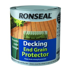 Ronseal Decking End Grain Protector 750ml Green [SRR37334]