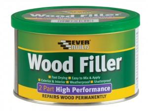 Wood Filler, 2 Part High Performance  EVBHPWFMH500