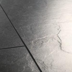 QUICK STEP Laminate Flooring Exquisa SLATE BLACK - 8x40.8x122.4mm  EXQ1550