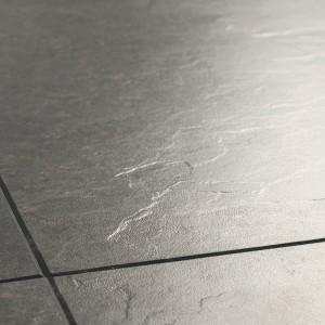 QUICK STEP Laminate Flooring Exquisa SLATE DARK - 8x40.8x122.4mm  EXQ1552