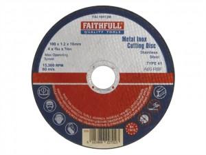 Metal Cut Off Disc  FAI10012M
