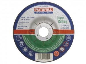 Depressed Centre Stone Cutting Discs  FAI1003SDC