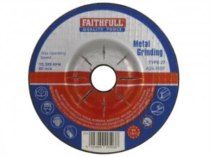 Depressed Centre Metal Grinding Disc  FAI1005MDG