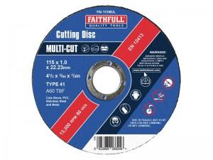 Multi-Cut Cutting Disc  FAI11510MUL