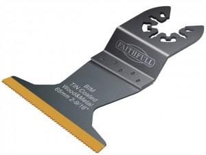 Flush Cut Bi-Metal TiN Coated Blades  FAIMFBM65