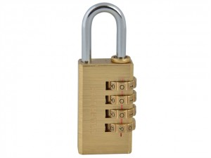 Brass Combination Padlock  FAIPLB28COM
