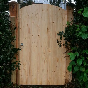DENBIGH TIMBER - The Fairbourne L&B Convex Gate