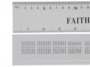 Aluminium Rule  FAIRULE300