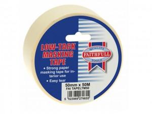 Low Tack Masking Tape  GRPFAITAPELTM50