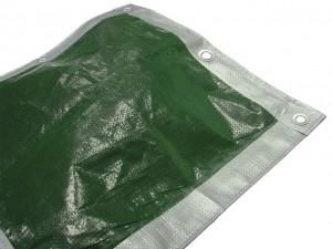 Tarpaulins Green / Silver  FAITARP129