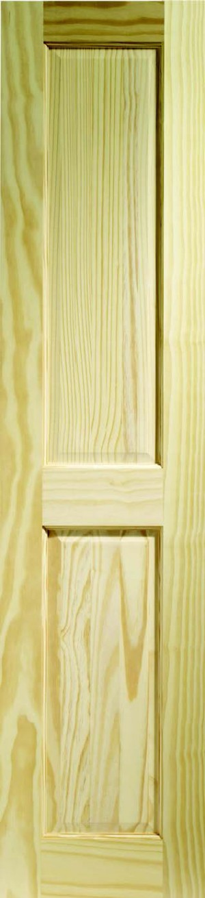 XL JOINERY DOORS -  CPIN4P21M  Internal Clear Pine Victorian 2 Panel  CPIN4P21M
