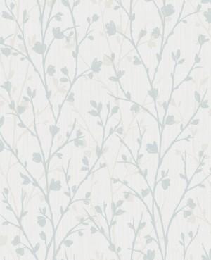 Twiggy Sidewall Wallpaper - Blue  FD42160