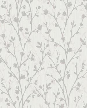Twiggy Sidewall Wallpaper - Grey  FD42161
