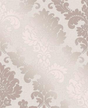 Quartz Damask Wallpaper - Rose Gold  FD42204