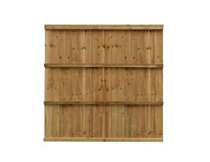 Grange Fencing FETRADE6G Trade Featheredge Panel Green - 1.8m