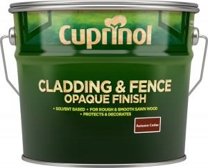 Cuprinol Cladding & Fence Opaque Finish 10L