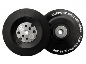 Angle Grinder Pads - Soft Black for Curved Surfaces  FLE11502