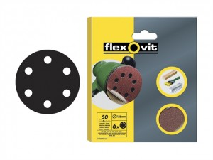Hook & Loop Sanding Discs 150mm  FLV26394