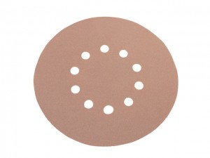 Sanding Paper - Hook & Loop Backing Round  FLX348503