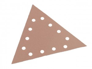 Sanding Paper - Hook & Loop Backing Triangle  FLX350554