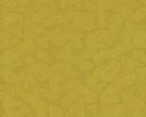 A S Creation Wallpaper - Four Seasons Triangle Mustard