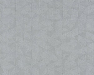 A S Creation Wallpaper - Four Seasons Triangle Soft Grey