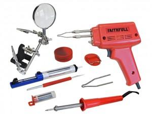 SGKP Soldering Gun 100 Watt & Iron Kit 30 Watt 240 Volt - CLESGKP