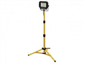 COB LED Single Tripod Site Light 1400 Lumen 20 Watt  FPPSLLED20T